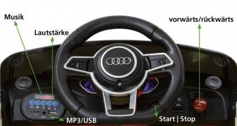 Jamara Kinderfahrzeug Elektroauto Kinder Ride-on Audi TT RS rot 12V Bild 2