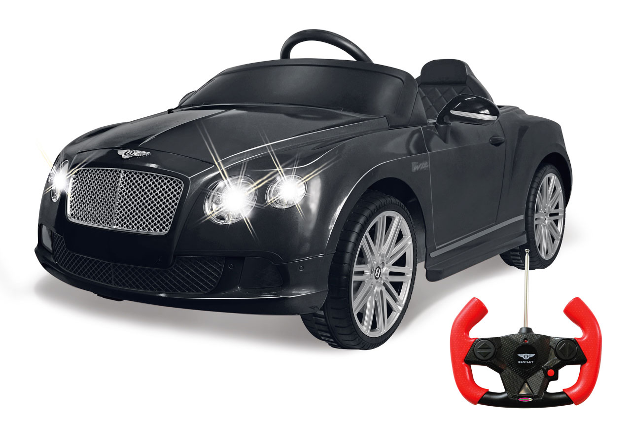 Jamara Kinderfahrzeug Elektroauto Kinder Ride-on Bentley GTC schwarz Bild 1