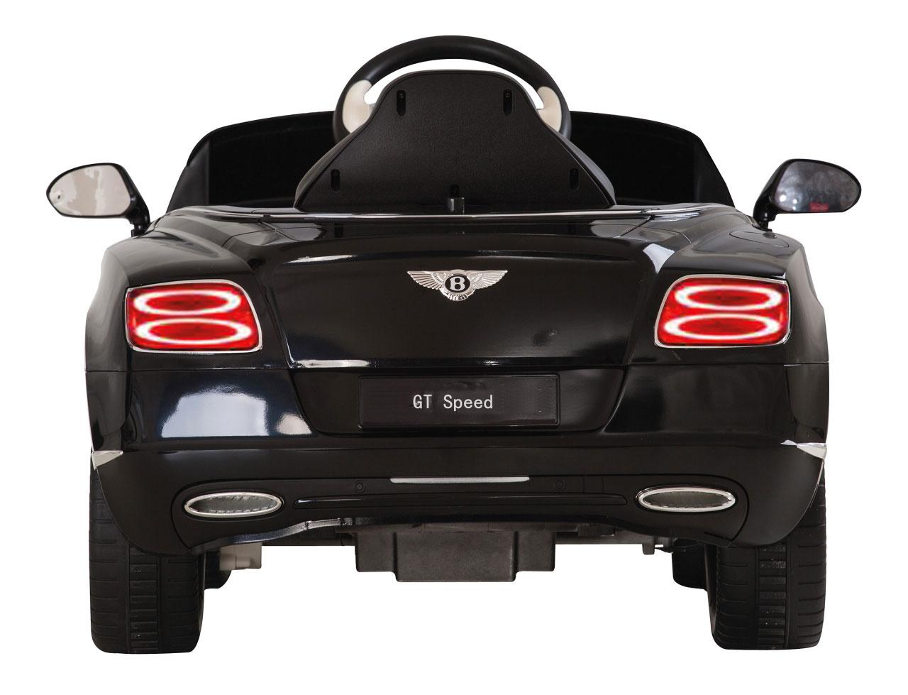 Jamara Kinderfahrzeug Elektroauto Kinder Ride-on Bentley GTC schwarz Bild 2