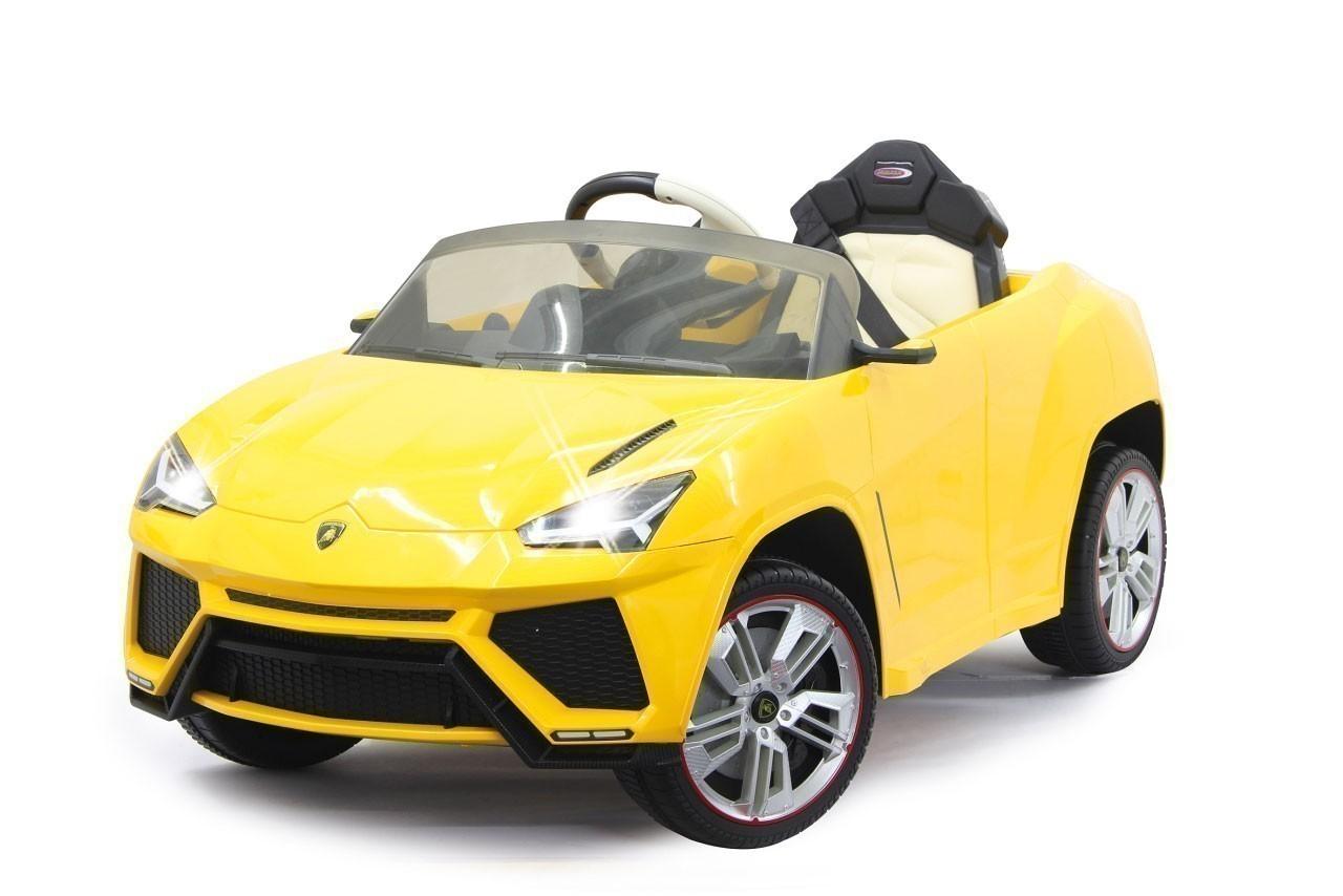 Jamara Kinderfahrzeug Kinderauto Elektro Ride-on Lamborghini Urus gelb Bild 1