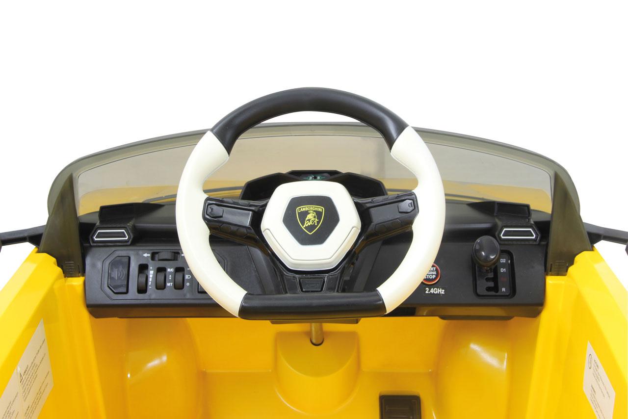 Jamara Kinderfahrzeug Kinderauto Elektro Ride-on Lamborghini Urus gelb Bild 4