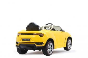 Jamara Kinderfahrzeug Kinderauto Elektro Ride-on Lamborghini Urus gelb Bild 2