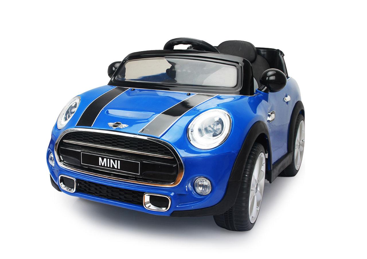 Jamara Kinderfahrzeug Kinderauto Elektro Ride-on Mini blau Bild 1