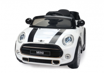 Jamara Kinderfahrzeug Kinderauto Elektro Ride-on Mini weiß Bild 1
