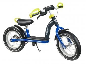 "Hudora Laufrad Cruiser Boy Alu 12"" blau/lemon Bild 1"