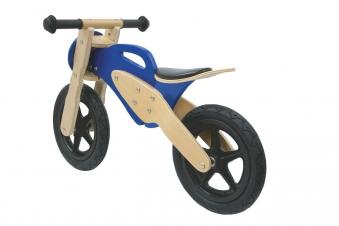 Jamara Laufrad Holz / Balance Bike Wood blau Bild 2
