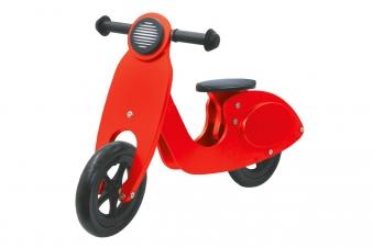 Jamara Laufrad Holz Roller / Balance Bike Wood rot Bild 1