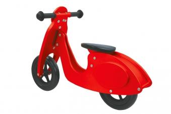 Jamara Laufrad Holz Roller / Balance Bike Wood rot Bild 2