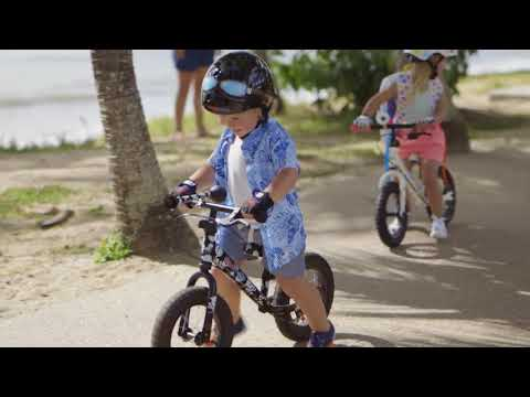 "kiddimoto Laufrad Super Junior Max 12"" Luftbereifung Fleur Video Screenshot 2588"