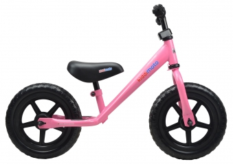 "kiddimoto Laufrad Super Junior SJ1 Metall verstellbar 12"" pink Bild 2"