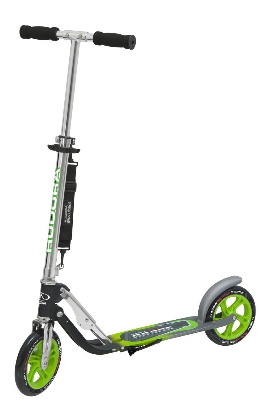 cityroller alu scooter hudora big wheel gs205 bei. Black Bedroom Furniture Sets. Home Design Ideas