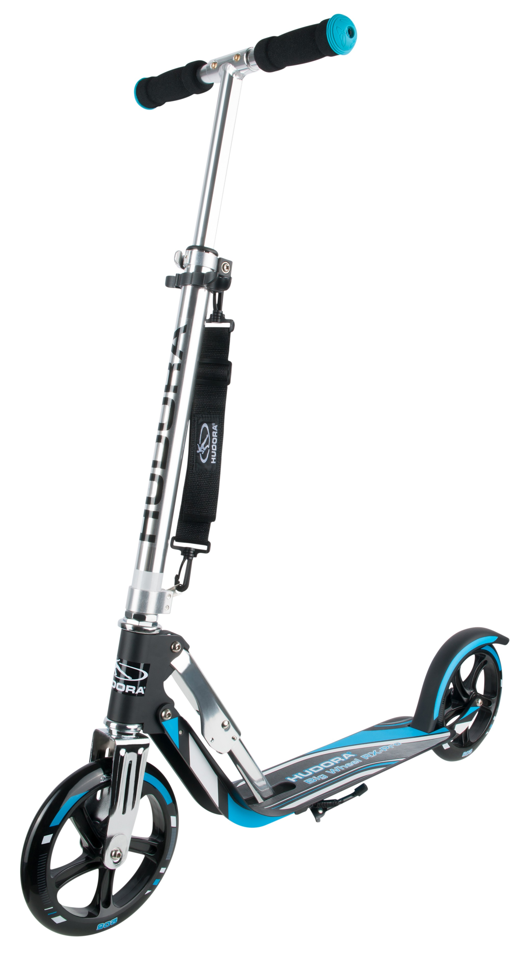 cityroller alu scooter hudora big wheel rx pro 205. Black Bedroom Furniture Sets. Home Design Ideas