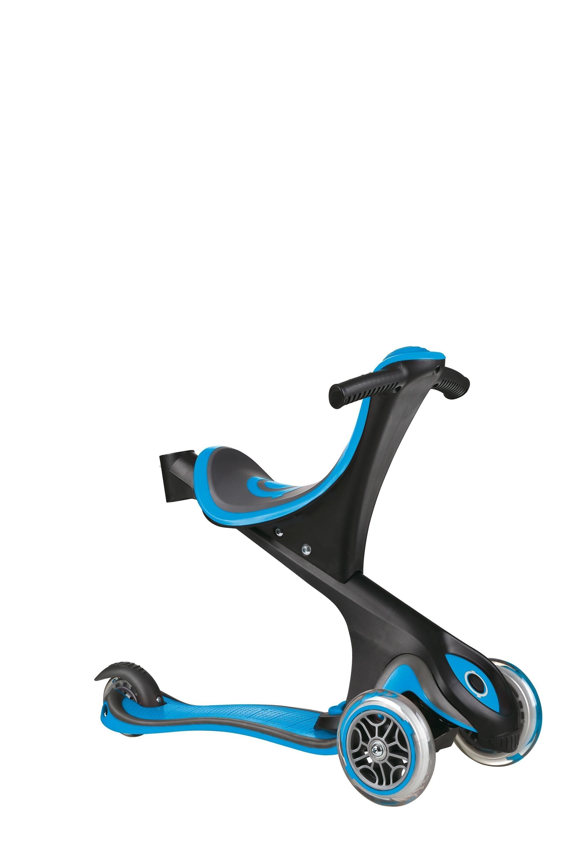 Scooter Kinderroller Dreirad Laufrad Globber Evo Comfort 5in1 himmelbl Bild 2