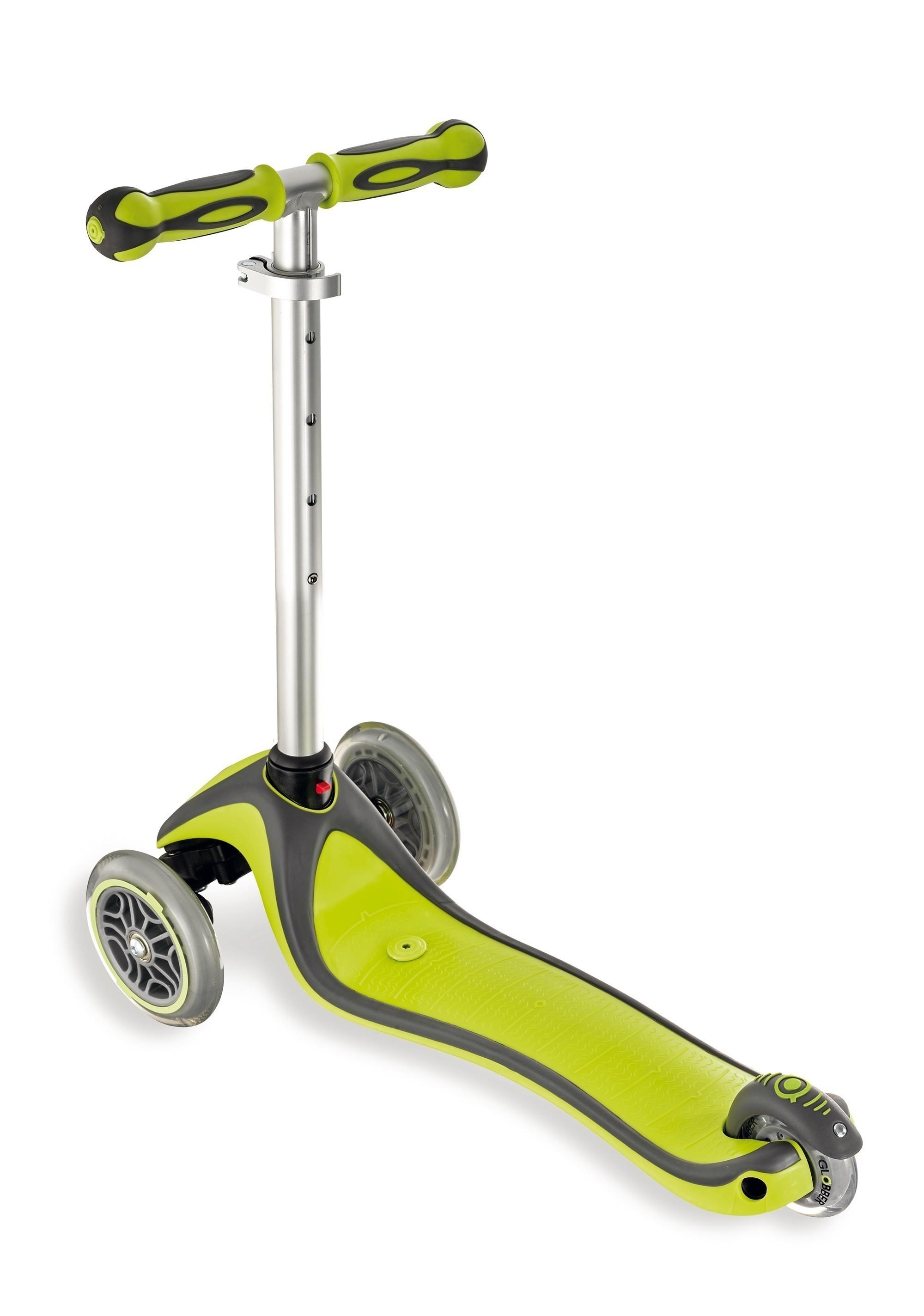 scooter roller dreirad laufrad globber 5in1 gr n schwarz bei. Black Bedroom Furniture Sets. Home Design Ideas