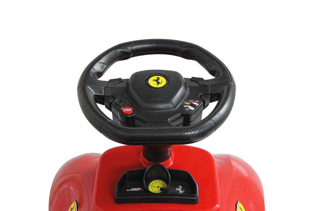 Jamara Rutschauto Ferrari 458 rot Bild 3