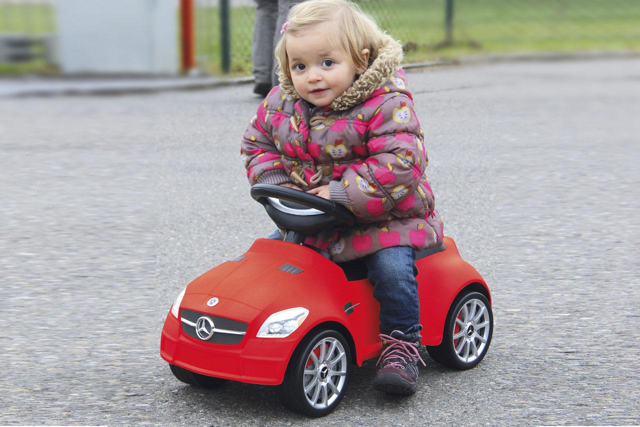 Jamara Rutschauto Mercedes SLK 55AMG rot Bild 4