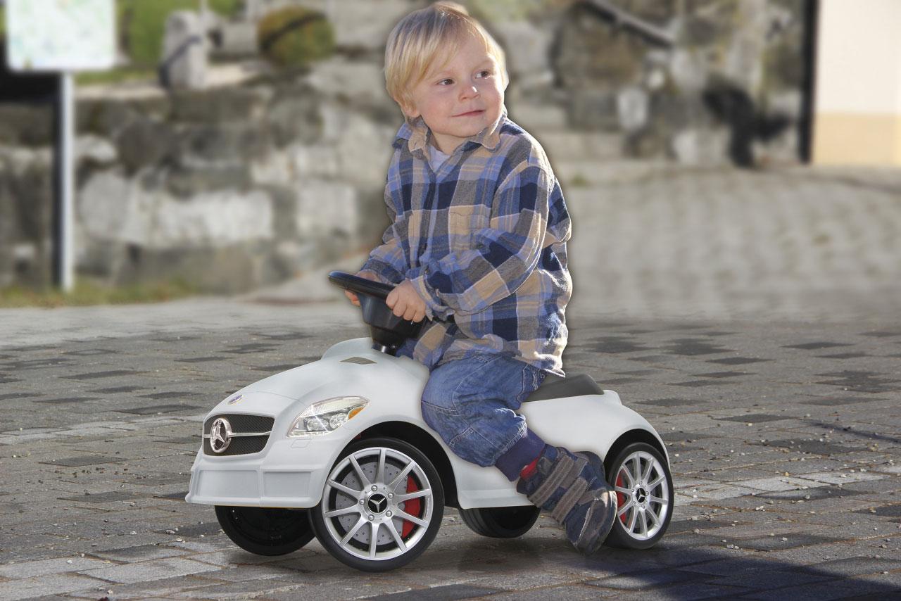 Jamara Rutschauto Mercedes SLK 55AMG weiß Bild 4