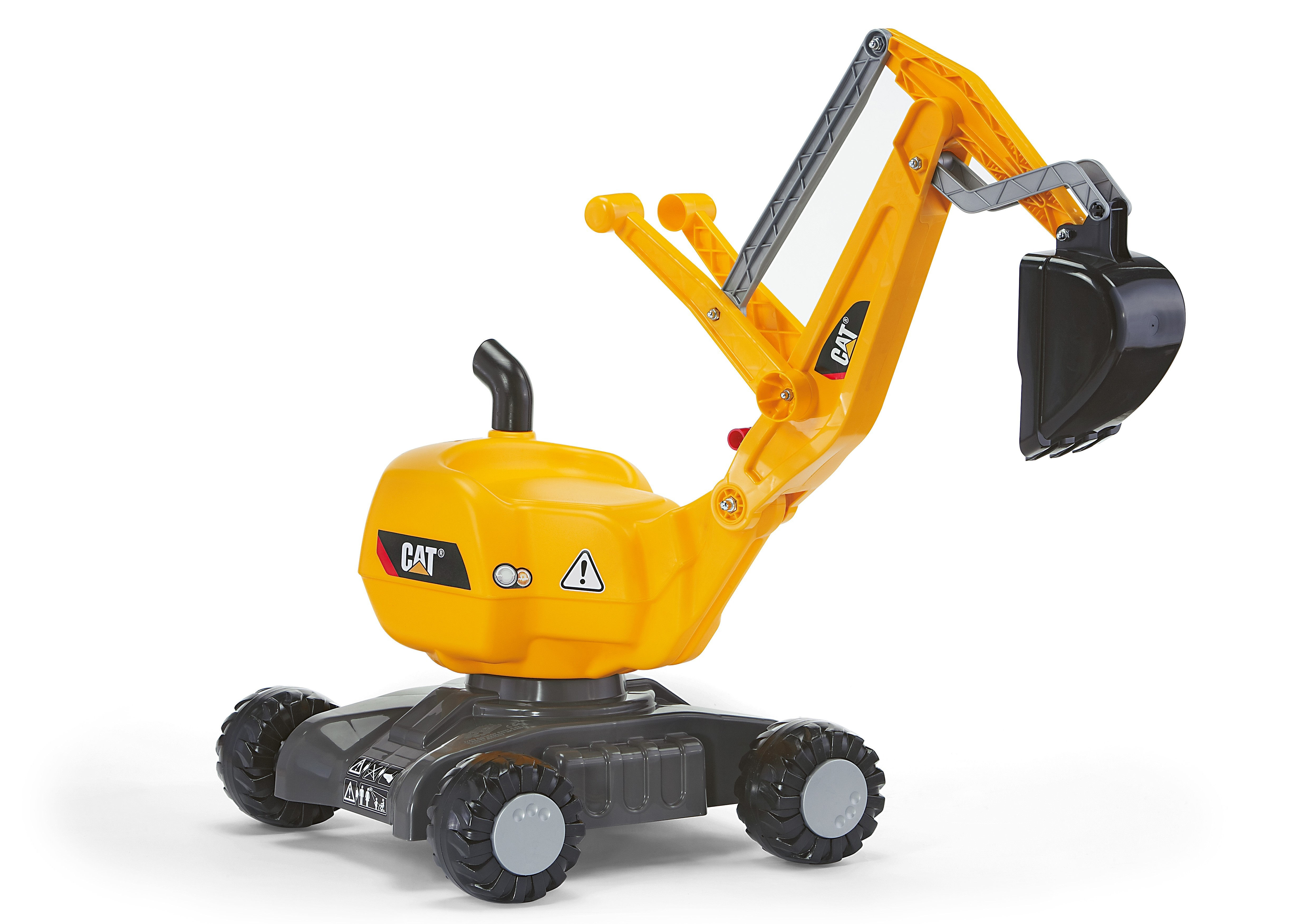 rutscher / spielzeug bagger rolly digger cat - rolly toys - bei
