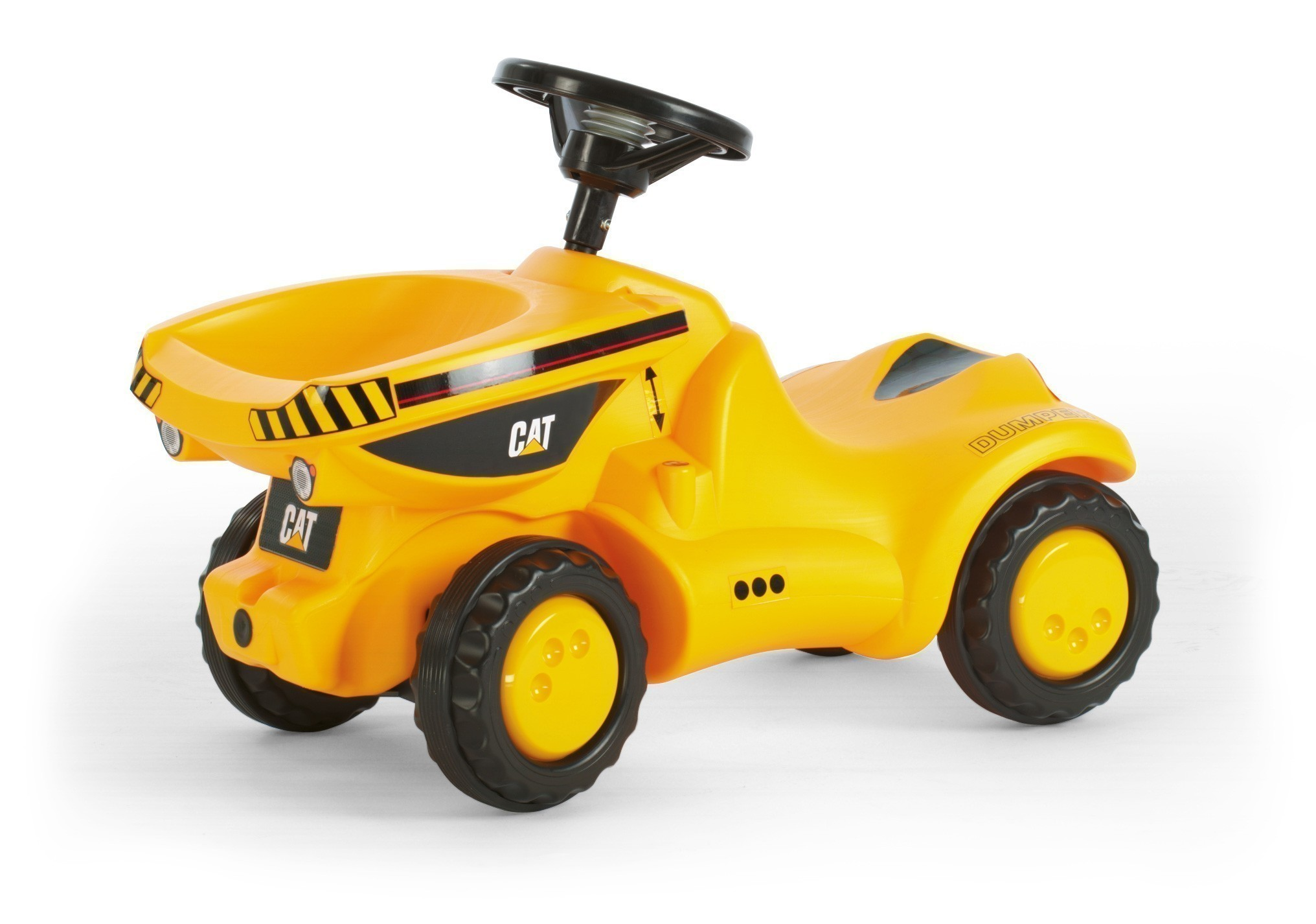 Rutscher rolly Minitrac CAT Dumper - Rolly Toys Bild 1
