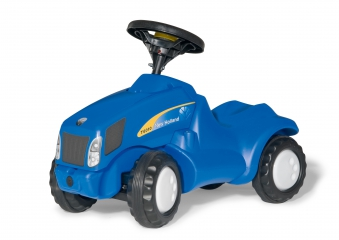 Rutscher rolly Minitrac New Holland NH T6010 - Rolly Toys Bild 1
