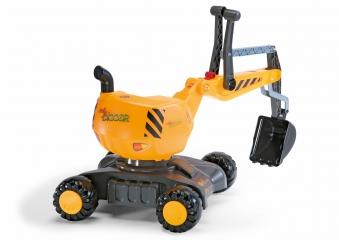Rutschfahrzeug / Spielzeug-Bagger rolly Digger - Rolly Toys Bild 2