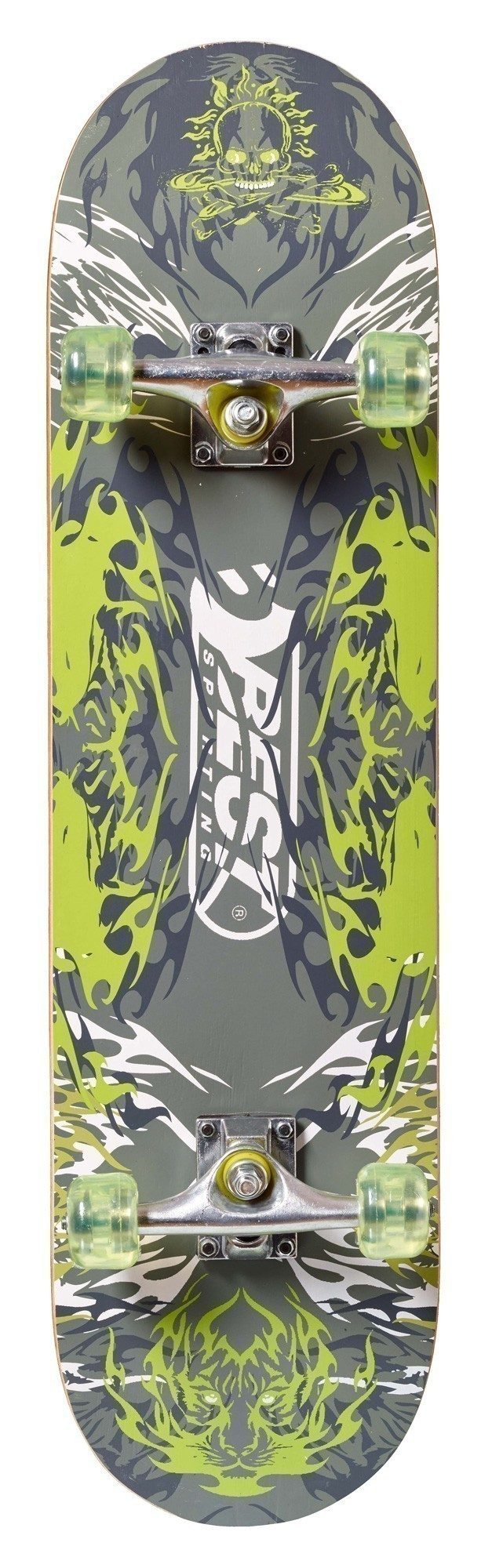 Skateboard ABEC 5 Green Ghost Bild 1