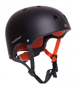 Hudora Skateboarder Helm / Skater Helm anthrazit Größe 51-55cm