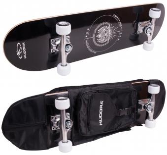 Skateboard Hudora Columbia Heights ABEC 3 mit Rucksack Bild 1