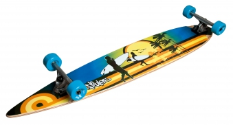 Skateboard / No Rules Longboard ABEC 7 Beach Bild 1