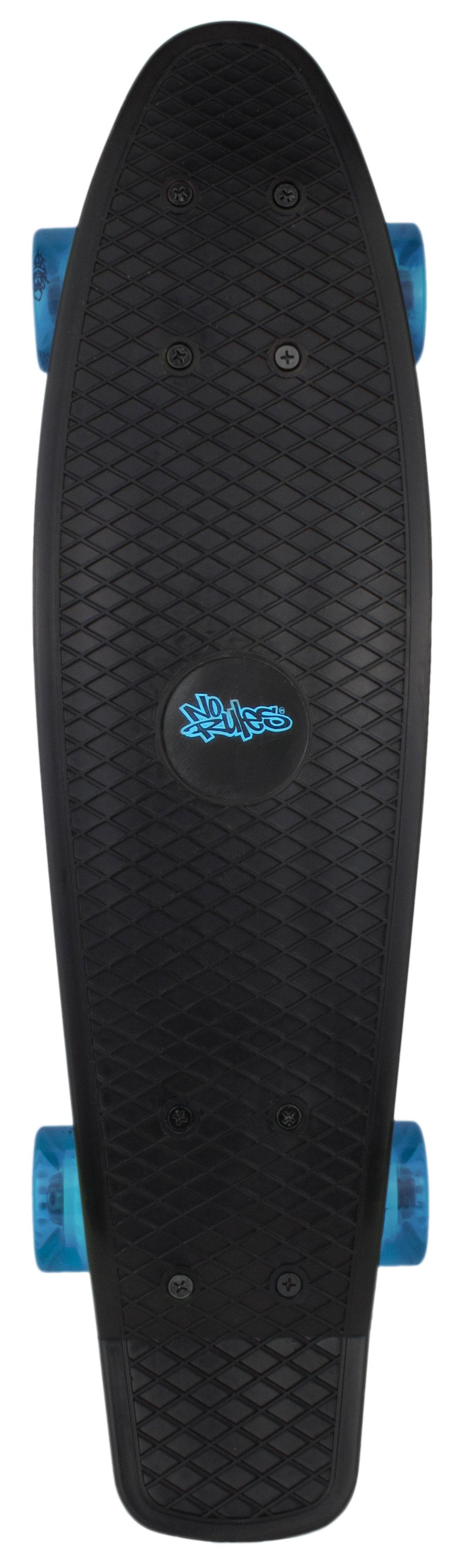 Skateboard fun No Rules schwarz-blau Bild 1