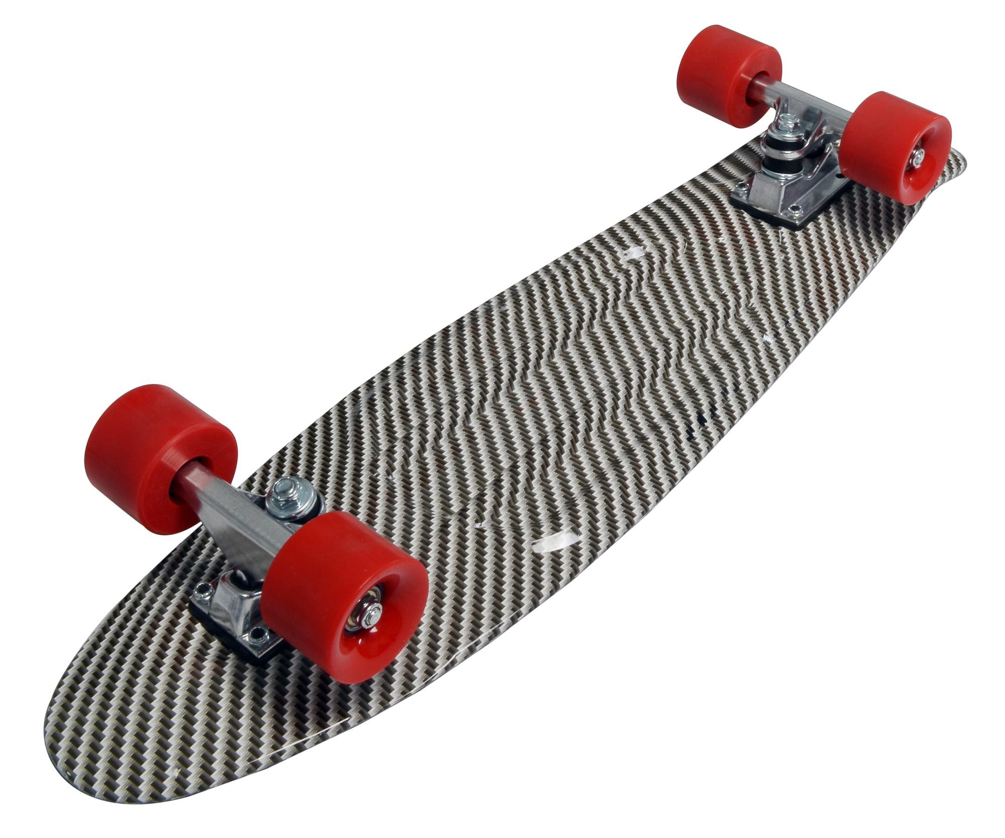 Skateboard fun deluxe No Rules mat cross Bild 2