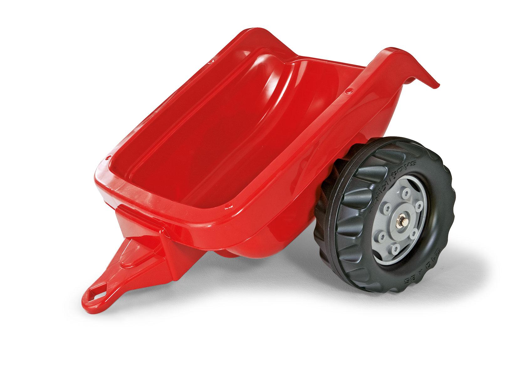 Anhänger für Trefahrzeug rolly Kid Trailer rot - Rolly Toys Bild 1