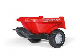 Anhänger für Tretfahrzeug rolly Kipper II rot - Rolly Toys Bild 1