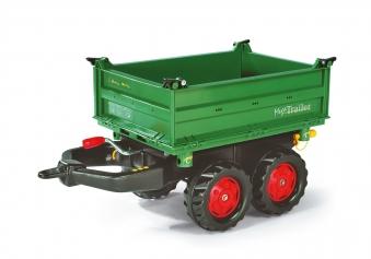 Anhänger für Tretfahrzeug rolly Mega Trailer Fendt-grün - Rolly Toys Bild 1