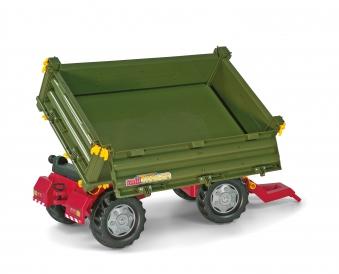 Anhänger für Tretfahrzeug rolly Multi Trailer grün - Rolly Toys Bild 3