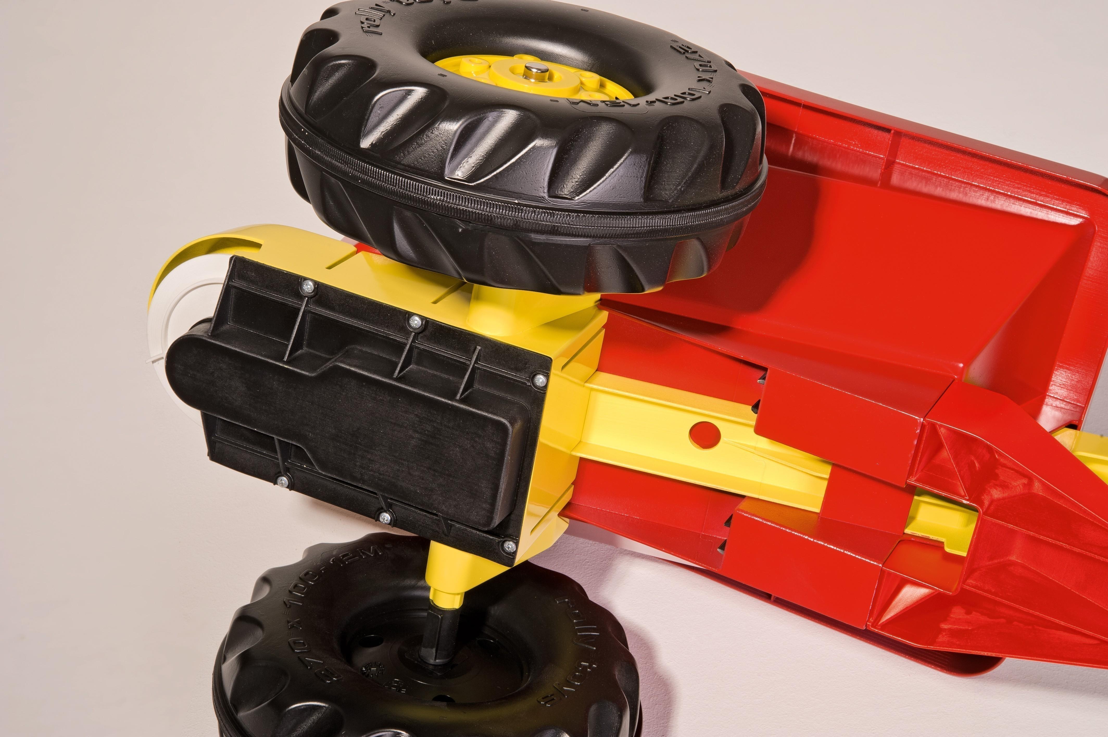 Anhänger für Tretfahrzeug rolly Streumax rot - Rolly Toys Bild 3
