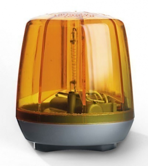 Blinklicht für Tretfahrzeug rolly Flashlight orange - Rolly Toys