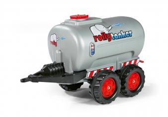 Anhänger für Tretfahrzeug rolly Tanker silber - Rolly Toys Bild 1
