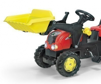 Frontlader für Tretfahrzeug rolly Kid - Rolly Toys Bild 2