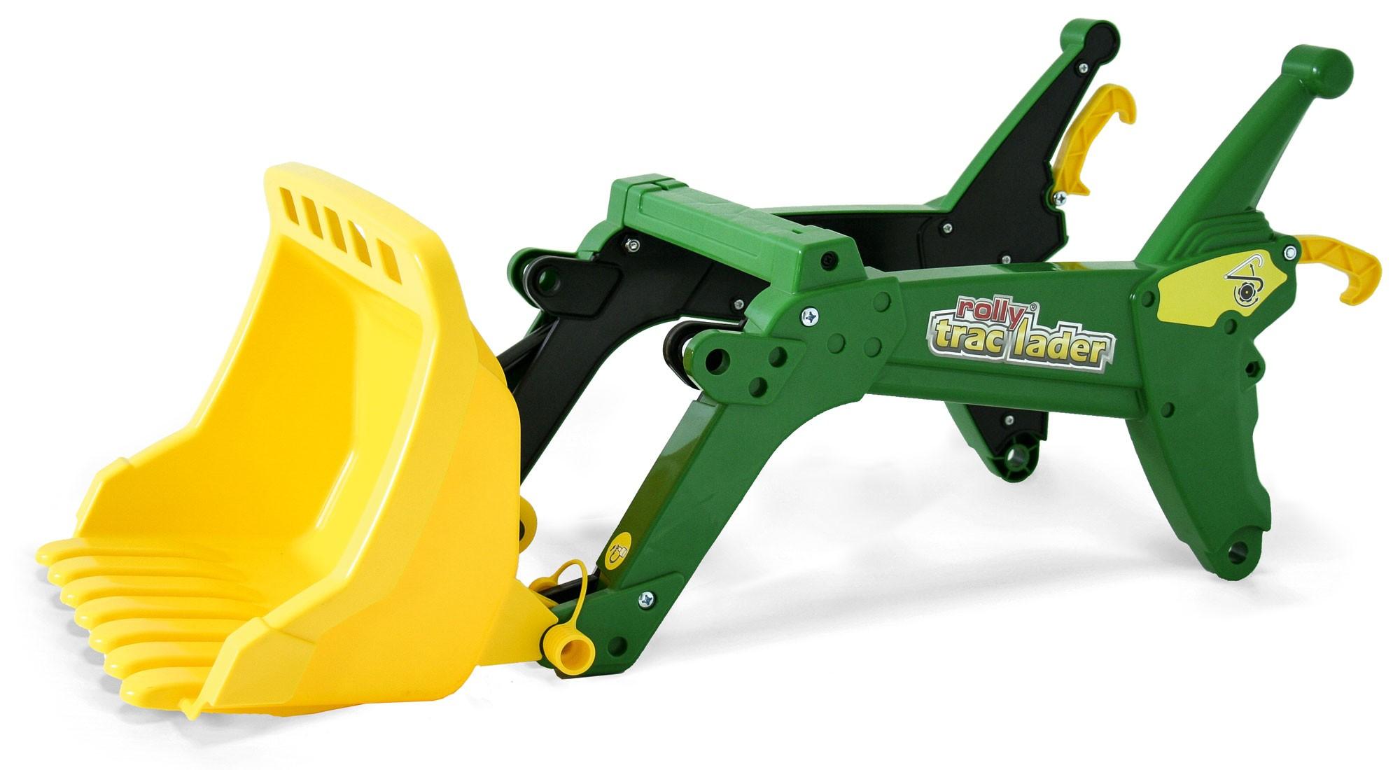 Frontlader für Tretfahrzeug rolly Trac Lader John Deere - Rolly Toys Bild 1