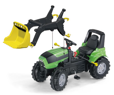 Frontlader für Tretfahrzeug rolly Trac Lader - Rolly Toys Bild 2