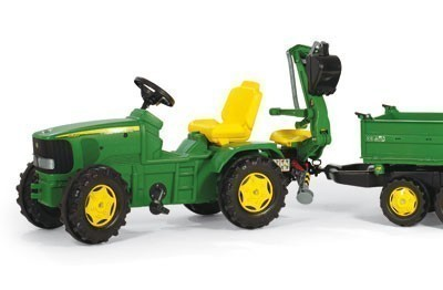 Heckbagger für Tretfahrzeug rolly Heckbagger John Deere - Rolly Toys Bild 2