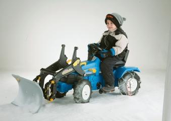Planierschild für Tretfahrzeug rolly Snow Master - Rolly Toys Bild 3