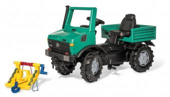 Tretfahrzeug rolly Unimog Forst Powerwinch - Rolly Toys Bild 2