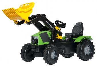 Trettraktor rolly Farmtrac Deutz-Fahr mit Frontlader - Rolly Toys Bild 1