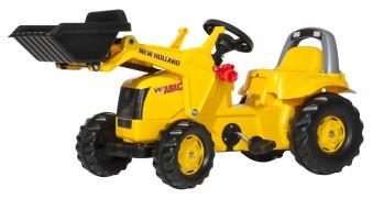 Trettraktor rolly Kid New Holland Construction Frontlager Rolly Toys Bild 1