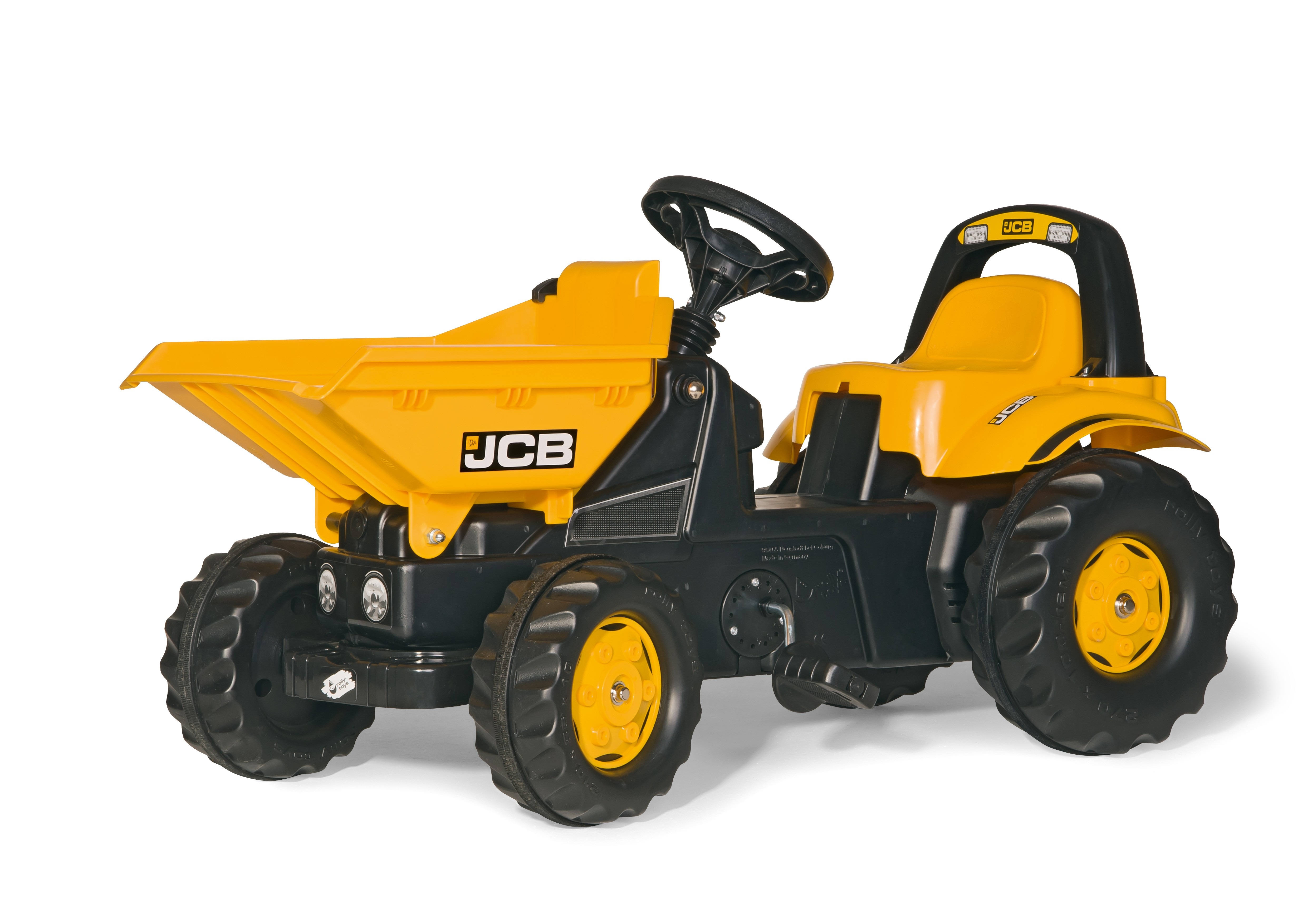 trettraktor rolly dumper kid jcb rolly toys bei. Black Bedroom Furniture Sets. Home Design Ideas