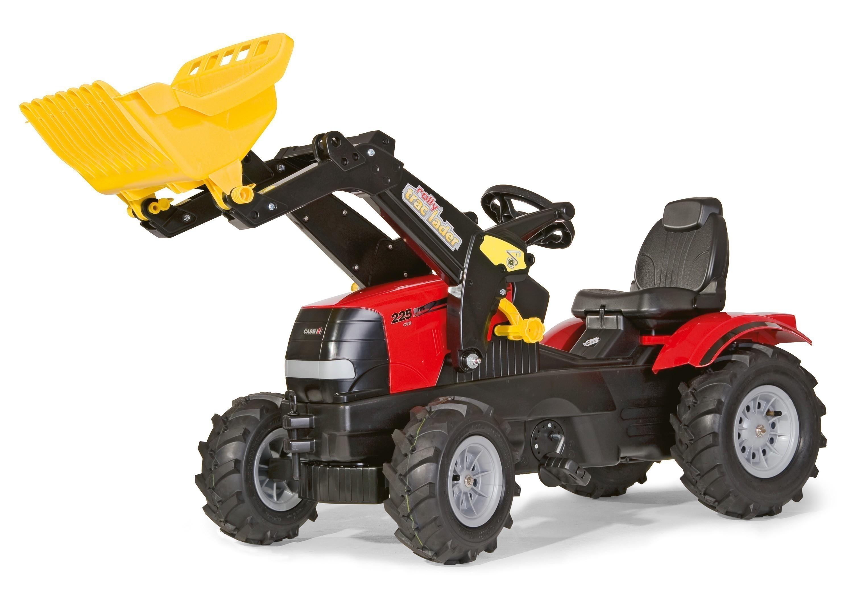 Trettraktor rolly Farmtrac Case Puma Luftreifen - Rolly Toys Bild 1