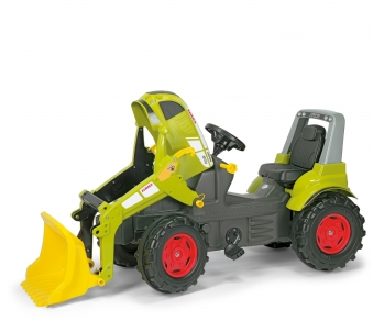 Trettraktor rolly Farmtrac Claas Arion mit Frontlader - Rolly Toys Bild 2