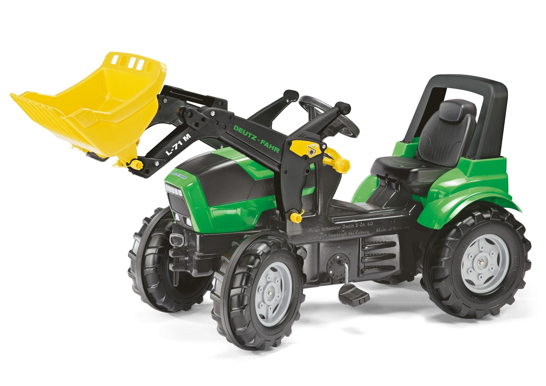 Trettraktor rolly Farmtrac Deutz-Fahr Agrotron Frontlader - Rolly Toys Bild 1